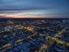 Aerofoto loojanguga Kuressaare linnast