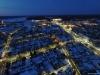 Aerofoto õhtune Kuressaare linn