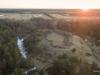 Aerofoto Valjala muinaslinnus ehk maalinn Saaremaal