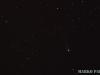 Komeet Lovejoy C/2013 C1 ja taustal tähetriibud.