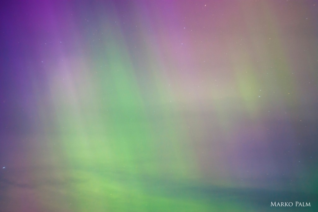 Northern Lights in Estonia
